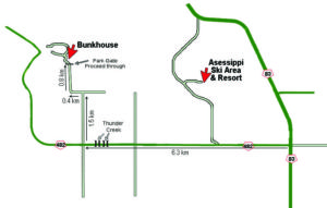 Bunkhouse Map